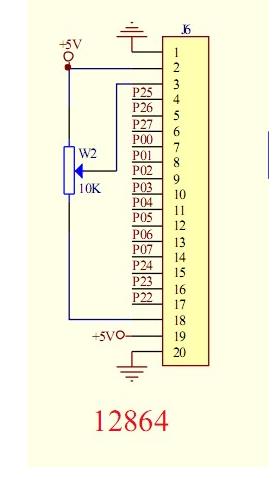 单片机万年历电路图和源程序图片