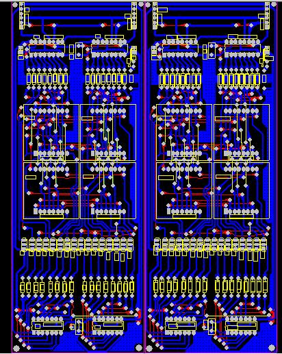 16x16点阵屏 含原理图,pcb图,还有c51单片机程序