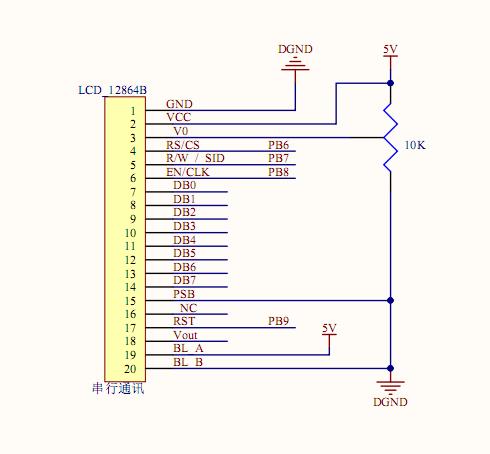 64B串行通讯stm32源程序和原理图 STM32 8 单片机论坛图片