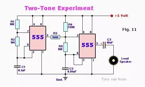 【干货】ne555典型应用电路图(1)