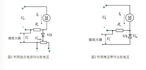 图中ui表示电流负反馈信号电压,un表示转速负反馈信号电压.
