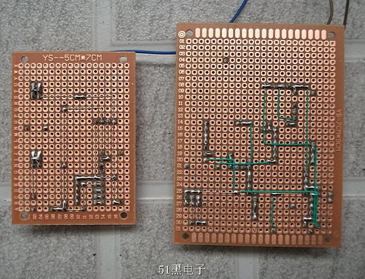4、稳定性高,无误报。 无线音乐门铃元件清单 1.7*9万用板 2.80.25w小喇叭 3.DC电源插口 4.自锁开关 5.12m晶振 6.10k电阻*8 7.2.2k电阻 8.30pf电容*2 9.10uf电容 10.40脚IC座 11.按键*2 12.stc89c51 13.315M发射模块 14.接收模块 15.2272-M4芯片 16.2262芯片 17.12v电池 18.820k贴片电阻 19.4.