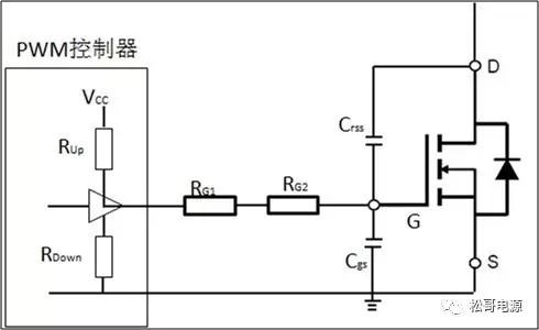 功率mosfet驱动等效电路