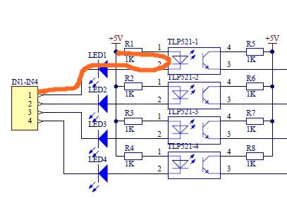 基于l298n的电机驱动电路