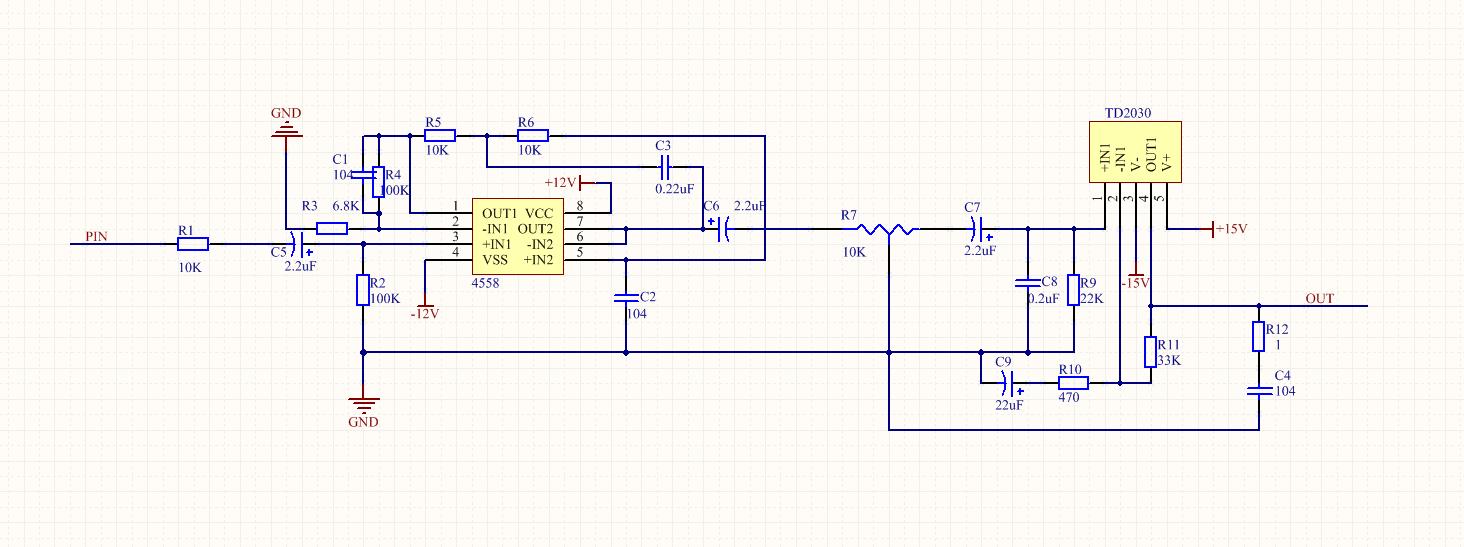 双电源低音炮制作求助 怎么使用桥式整流产生正负12v