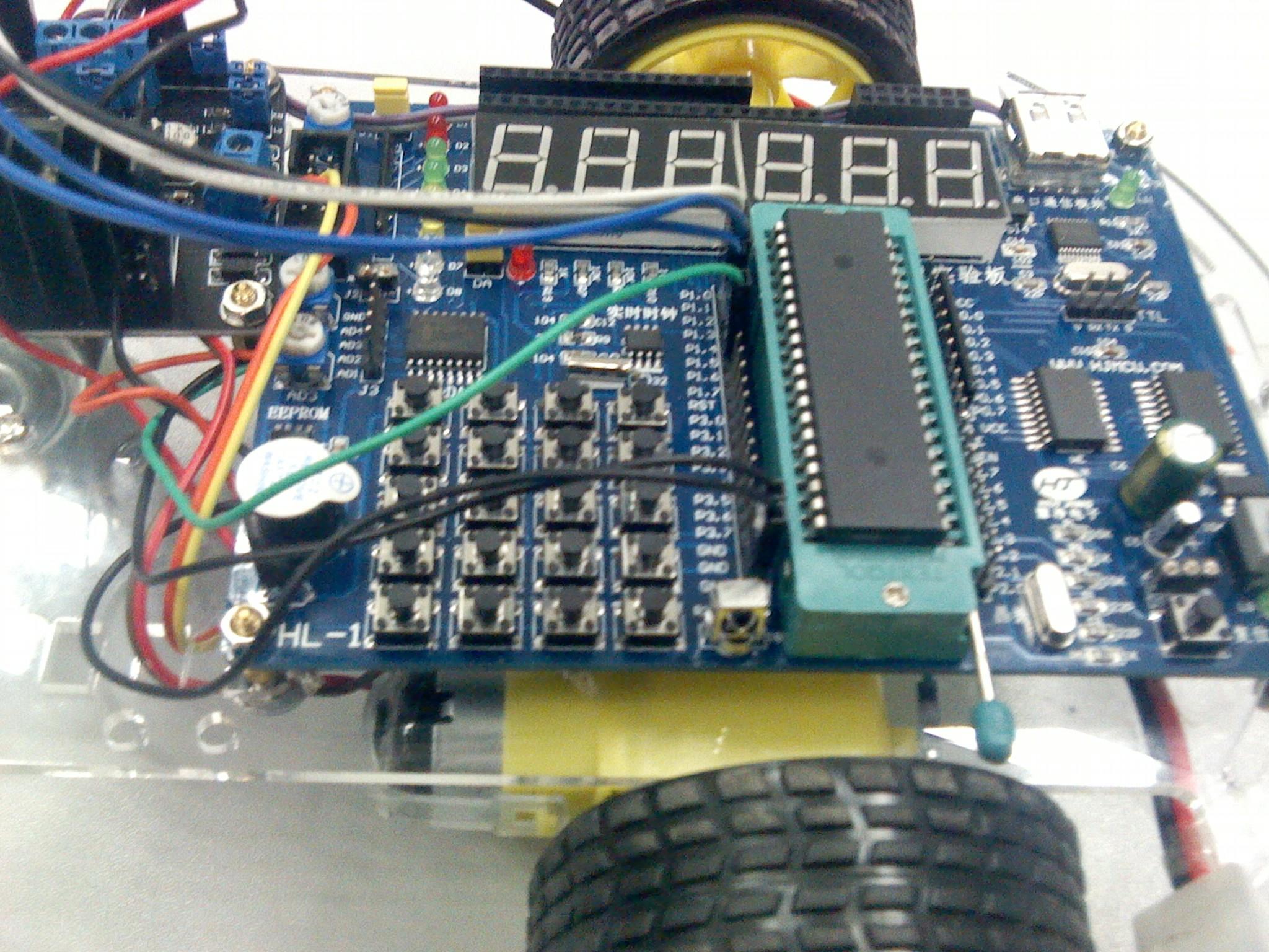 单片机智能遥控车程序,pcb电路图ppt,图片