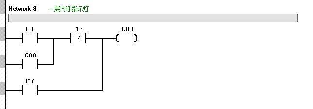 电梯外指令信号  以2层外呼下指示灯为例:按下2层外呼下按钮,若电梯
