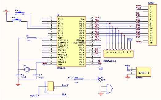 1: 第二节 主要模块的电路 一,系统的蜂鸣器电路 微型计算机控制系统