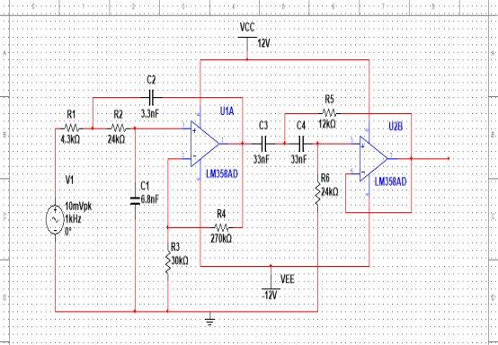 带通功率放大器课程设计报告(通信电子线路)