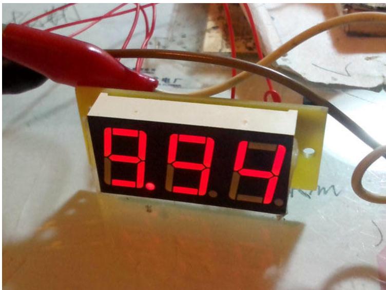 单片机DIY小型电压表
